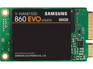 SAMSUNG 860 EVO Series mSATA 500GB SATA III V-NAND 3-bit MLC Internal Solid State Drive (SSD) MZ-M6E500BW