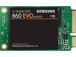 SAMSUNG 860 EVO Series mSATA 1TB SATA III V-NAND 3-bit MLC Internal Solid State Drive (SSD) MZ-M6E1T0BW