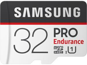 SAMSUNG 32GB PRO Endurance microSDHC UHS-I/U1 Memory Card with Adapter, Speed Up to 100MB/s (MB-MJ32GA/AM)