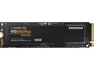 SAMSUNG 970 EVO PLUS M.2 2280 500GB PCIe Gen 3.0 x4, NVMe 1.3 V-NAND 3-bit MLC Internal Solid State Drive (SSD) MZ-V7S500B/AM
