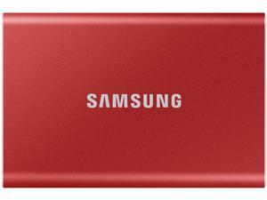 SAMSUNG T7 500GB USB 3.2 Gen 2 Samsung 3D V-NAND 3-bit MLC External Solid State Drive