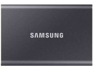 SAMSUNG T7 Portable SSD 500GB - Up to 1050 MB/s - USB 3.2 External Solid State Drive, Gray (MU-PC500T/AM)
