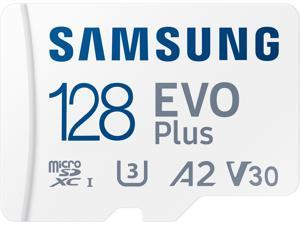 SAMSUNG EVO Plus 128GB microSDXC Flash Card w/ Adapter Model MB-MC128KA/AM