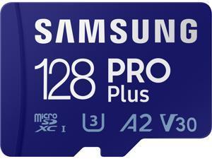 SAMSUNG PRO Plus 128GB microSDXC Flash Card w/ Adapter Model MB-MD128KA/AM