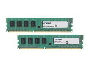 Crucial 4GB (2 x 2GB) 240-Pin DDR3 SDRAM DDR3 1066 (PC3 8500) Dual Channel Kit Desktop Memory Model CT2KIT25664BA1067
