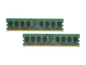 Crucial 4GB (2 x 2GB) 240-Pin DDR2 SDRAM DDR2 800 (PC2 6400) Dual Channel Kit Desktop Memory Model CT2KIT25664AA800