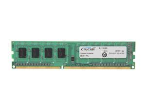 Crucial 2GB 240-Pin DDR3 SDRAM DDR3 1333 (PC3 10600) Micron Chipset Desktop Memory Model CT25664BA1339