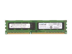 Crucial 4GB 240-Pin DDR3 SDRAM DDR3 1333 (PC3 10600) Micron Chipset Desktop Memory Model CT51264BA1339