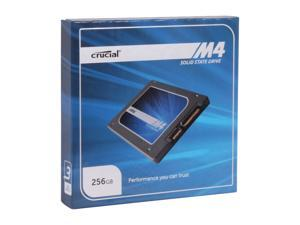 "Crucial M4 2.5"" 256GB SATA III MLC Internal Solid State Drive (SSD) CT256M4SSD2"