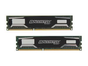 Ballistix Sport 16GB (2 x 8GB) 240-Pin DDR3 SDRAM DDR3 1600 (PC3 12800) Desktop Memory Model BLS2KIT8G3D1609DS1S00