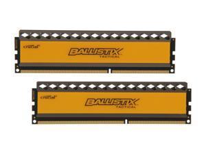Ballistix Tactical 16GB (2 x 8GB) 240-Pin DDR3 SDRAM DDR3 1600 (PC3 12800) Desktop Memory Model BLT2KIT8G3D1608DT1TX0