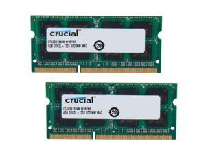 Crucial 8GB (2 x 4GB) DDR3 1333 (PC3 10600) Memory for Apple Model CT2K4G3S1339M