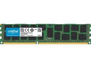 Crucial 16GB 240-Pin DDR3 RDIMM - DDR3L 1600 (PC3L 12800) Server Memory - 1.35V - ECC - 2Rx4 - CT16G3ERSLD4160B