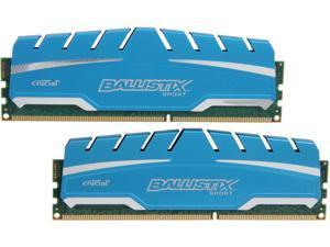 Ballistix Sport XT 16GB (2 x 8GB) 240-Pin DDR3 SDRAM DDR3 1866 (PC3 14900) Desktop Memory Model BLS2K8G3D18ADS3