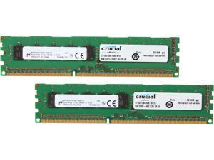Crucial 16GB (2 x 8GB) 240-Pin DDR3 SDRAM ECC Unbuffered DDR3L 1600 (PC3L 12800) Server Memory Model ...