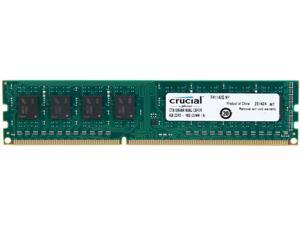Crucial 4GB 240-Pin DDR3 SDRAM DDR3 1600 (PC3 12800) Major Brand Chipset Desktop Memory Model CT51264BA160BJ