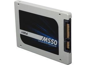 "Crucial M550 2.5"" 512GB SATA 6Gbps MLC Internal Solid State Drive (SSD) CT512M550SSD1"