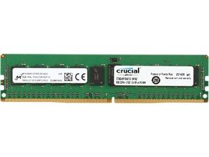 Crucial 8GB 288-Pin DDR4 SDRAM ECC Registered DDR4 2133 (PC4 17000) Server Memory Model CT8G4RFS4213