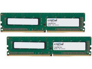 Crucial 8GB (2 x 4GB) 288-Pin DDR4 SDRAM DDR4 2133 (PC4 17000) Major Brand Chipset Desktop Memory Model CT2K4G4DFS8213