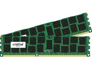 Crucial 32GB (2 x 16GB) 240-Pin DDR3 SDRAM DDR3 1866 (PC3 14900) Desktop Memory Model CT2C16G3R186DM