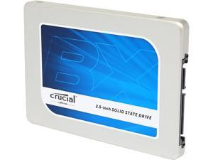 "Crucial BX100 2.5"" 120GB SATA 6Gbps (SATA III) Micron 16nm MLC NAND Internal Solid State Drive (SSD) CT120BX100SSD1"