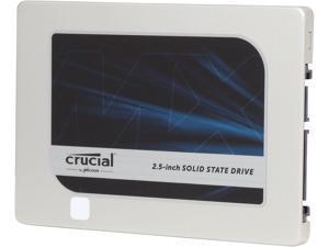 "Crucial MX200 2.5"" 500GB SATA 6Gbps (SATA III) Micron 16nm MLC NAND Internal Solid State Drive (SSD) CT500MX200SSD1"