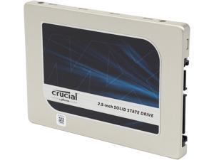 "Crucial MX200 2.5"" 1TB SATA 6Gbps (SATA III) Micron 16nm MLC NAND Internal Solid State Drive (SSD) CT1000MX200SSD1"