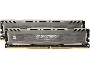 Ballistix Sport LT 16GB (2 x 8GB) 288-Pin DDR4 SDRAM DDR4 2400 (PC4 19200) Memory Model BLS2K8G4D240FSB