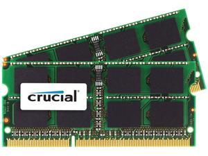 Crucial - DDR3 - 8 GB: 2 x 4 GB - SO-DIMM 204-pin - 1333 MHz / PC3-10600 - CL9 - 1.35 / 1.5 V - unbuffered - non-ECC - for Apple iMac, Mac mini (Mid 2011), MacBook Pro (Early 2011, Late 2011)