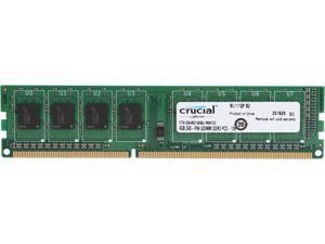 Crucial 4GB 240-Pin DDR3 SDRAM DDR3L 1600 (PC3L 12800) High Density Desktop Memory Model CT51264BD160BJ