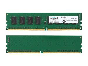 Crucial 32GB (4 x 8GB) 288-Pin DDR4 SDRAM DDR4 2133 (PC4 17000) Desktop Memory Model CT4K8G4DFS8213