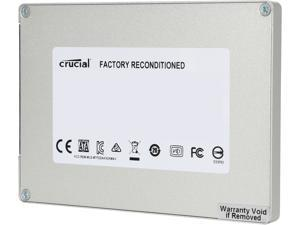 """Crucial MX100 2.5"""" 128GB SATA III Internal Solid State Drive (SSD) CT128MX100SSD1 - Factory Recertified"""