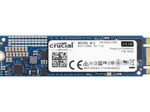 Crucial MX300 M.2 2280 275GB SATA III 3D NAND Internal Solid State Drive (SSD) CT275MX300SSD4