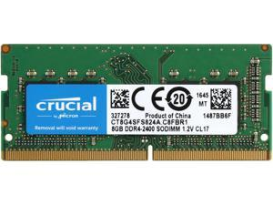 Crucial 8GB Single DDR4 2400 (PC4 19200) 260-Pin SODIMM Memory - CT8G4SFS824A