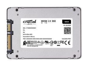 Crucial MX500 500GB 3D NAND SATA 2.5 Inch Internal SSD, up to 560 MB/s  - CT500MX500SSD1
