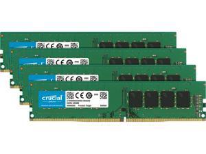 Crucial 64GB (4 x 16GB) DDR4 2666MHz DRAM (Desktop Memory) CL19 1.2V DR DIMM (288-pin) CT4K16G4DFD8266