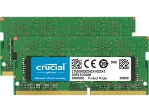 Crucial 32GB (2 x 16GB) DDR4 2666MHz DRAM (Notebook Memory) CL19 1.2V DR SODIMM (260-pin) CT2K16G4SFD8266