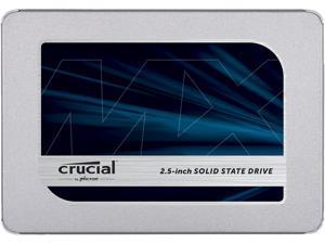 """Crucial MX500 2.5"""" 500GB SATA III 3D NAND Internal Solid State Drive (SSD) CT500MX500SSD1T"""