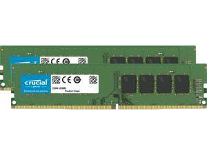 Crucial 16GB (2 x 8GB) 288-Pin DDR4 SDRAM DDR4 3200 (PC4 25600) Desktop Memory Model CT2K8G4DFS832A