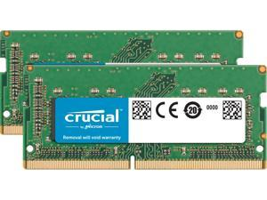 Crucial 32GB Kit (16GBx2) DDR4 2666 MT/s (PC4-21300) CL19 DR x8 SODIMM 260-Pin for Mac - CT2K16G4S266M