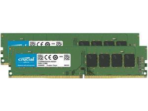 Crucial 64GB Kit (32GBx2) DDR4 3200 MT/s CL22 DIMM 288-Pin Memory - CT2K32G4DFD832A
