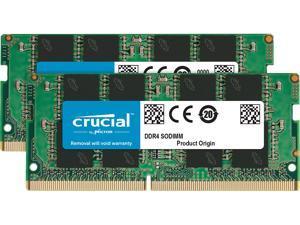 Crucial 16GB (2 x 8GB) 260-Pin DDR4 SO-DIMM DDR4 3200 (PC4 25600) Laptop Memory Model CT2K8G4SFRA32A