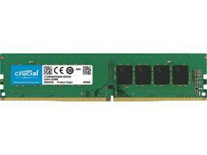 Crucial 16GB 288-Pin DDR4 SDRAM DDR4 2666 (PC4 21300) Desktop Memory Model CT16G4DFRA266