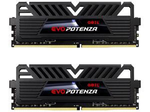 GeIL EVO POTENZA 16GB (2 x 8GB) 288-Pin DDR4 SDRAM DDR4 3000 (PC4 24000) Intel XMP 2.0 Desktop Memory Model GPB416GB3000C16ADC
