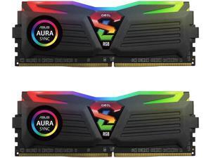 GeIL SUPER LUCE RGB SYNC AMD Edition 16GB (2 x 8GB) 288-Pin DDR4 SDRAM DDR4 3000 (PC4 24000) Desktop Memory Model GALS416GB3000C16ADC