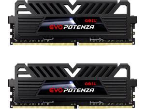 GeIL EVO POTENZA 16GB (2 x 8GB) 288-Pin DDR4 SDRAM DDR4 3200 (PC4 25600) Intel XMP 2.0 Desktop Memory Model GPB416GB3200C16ADC