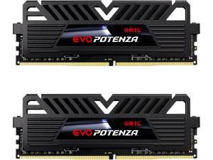 GeIL EVO POTENZA AMD 16GB (2 x 8GB) 288-Pin DDR4 SDRAM DDR4 3200 (PC4 25600) Intel XMP 2.0 Desktop Memory Model GAPB416GB3200C16ADC
