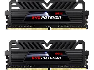 GeIL EVO POTENZA AMD 32GB (2 x 16GB) 288-Pin DDR4 SDRAM DDR4 3600 (PC4 28800) Desktop Memory Model GAPB432GB3600C18BDC