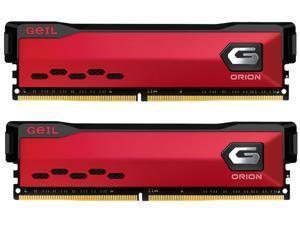 GeIL ORION AMD Edition 16GB (2 x 8GB) 288-Pin DDR4 SDRAM DDR4 3200 (PC4 25600) Intel XMP 2.0 Desktop Memory Model GAOR416GB3200C16ADC