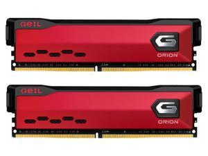 GeIL ORION AMD Edition 32GB (2 x 16GB) 288-Pin DDR4 SDRAM DDR4 3600 (PC4 28800) Intel XMP 2.0 Desktop Memory Model GAOR432GB3600C18BDC